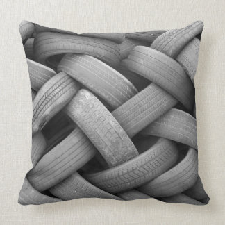 Old Tires Pillow