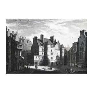 Old Tolbooth, Edinburgh Canvas Print