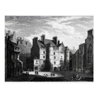 Old Tolbooth, Edinburgh Postcard