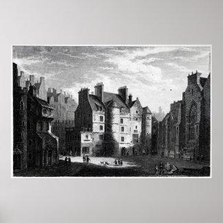 Old Tolbooth Edinburgh Poster