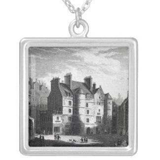Old Tolbooth, Edinburgh Silver Plated Necklace