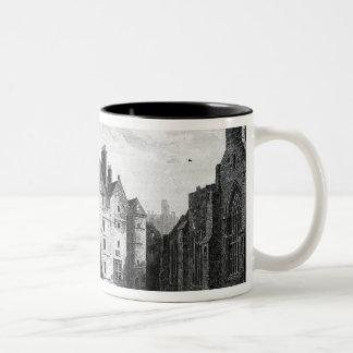 Old Tolbooth, Edinburgh Two-Tone Coffee Mug