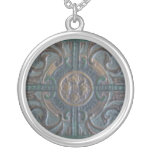 Old Tooled Leather Journal Pendant