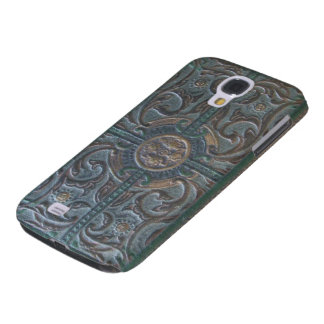 Old Tooled Leather Look Relic Phone Case