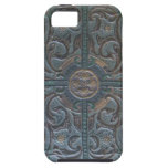 Old Tooled Leather Relic iPhone SE/5/5s Case