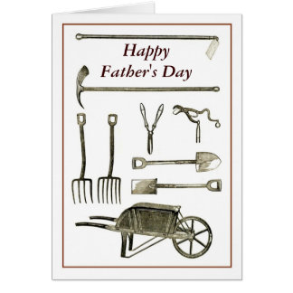 Old Tools Card