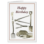 Old Tools Greeting Cards