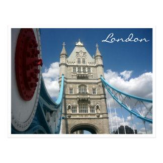 old tower bridge postcard