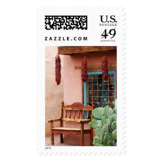 Old Town Albuquerque Shop Window Postage Stamp