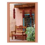 Old Town Albuquerque Shop Window Postcard