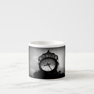 Old Town Clock Espresso Cup