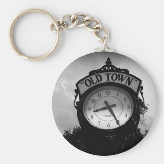 Old Town Clock Keychain