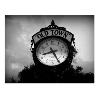Old Town Clock Postcard