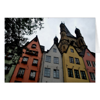 Old Town Cologne - Kohn Greeting Cards