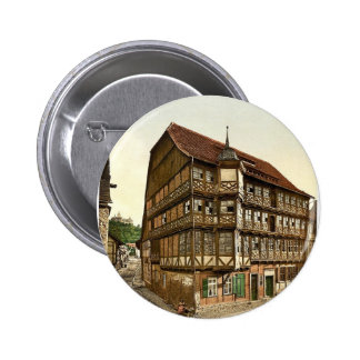 Old town hall and castle, Wernigerode, Hartz, Germ Pins