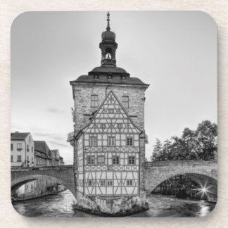 Old Town Hall and Obere Bridge in Bamberg Coaster