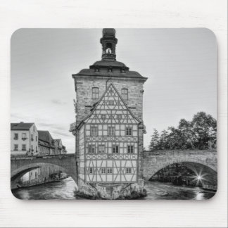Old Town Hall and Obere Bridge in Bamberg Mouse Pad
