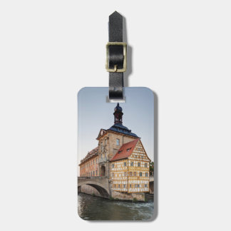 Old Town Hall and the Obere Bridge in Bamberg Bag Tag