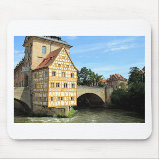 Old Town Hall, Bamberg, Germany, Europe 1 Mousepad