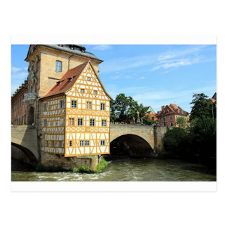 Old Town Hall, Bamberg, Germany, Europe 1 Postcard