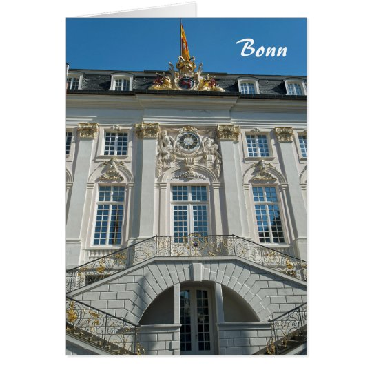 Old Town Hall in Bonn Card