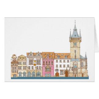 Old Town Hall. Prague Czech Card