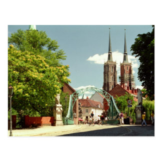 Old Town in Wroclaw Postcard