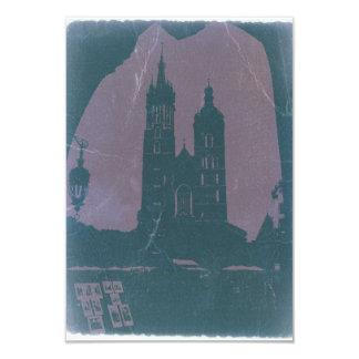 Old town Krakow Poland Card