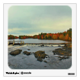 Old Town, Maine Autumn Scenery 2015 Wall Decal