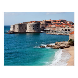 Old Town of Dubrovnik and Adriatic Sea Postcards