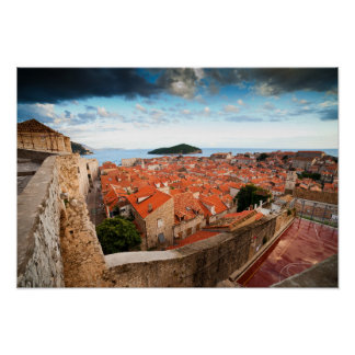 Old Town of Dubrovnik Poster
