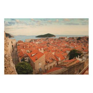 Old Town of Dubrovnik Wood Wall Art