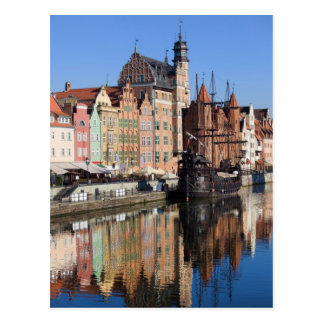 Old Town of Gdansk in Poland Post Cards