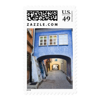 Old Town of Warsaw in Poland Postage
