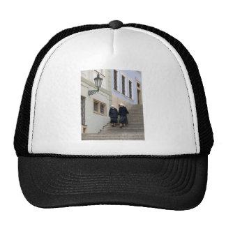 Old town, Prague. Mesh Hats