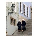 Old town, Prague. Postcard