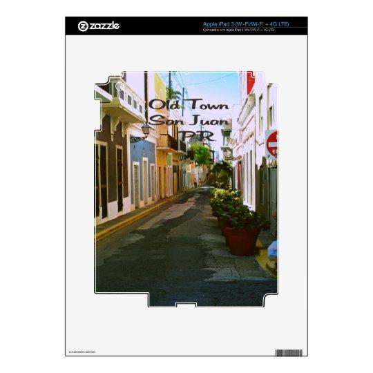 Old Town San Juan Puerto Rico iPad 3 Decals
