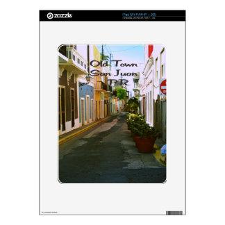 Old Town San Juan Puerto Rico iPad Decal