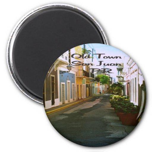 Old Town San Juan Puerto Rico Magnet