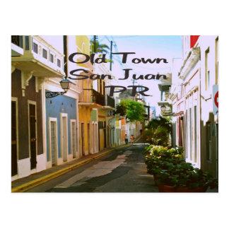 Old Town San Juan Puerto Rico Postcard