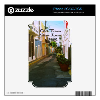 Old Town San Juan Puerto Rico Skin For The iPhone 2G