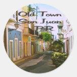 Old Town San Juan Puerto Rico Stickers