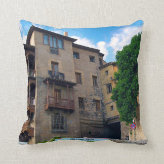 Old Town, Spain Throw Pillow