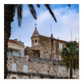 Old town, Split, Croatia Card