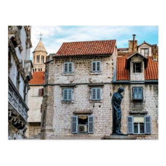 Old town, Split, Croatia Postcard