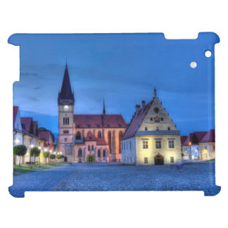 Old town square in Bardejov, Slovakia,HDR Cover For The iPad