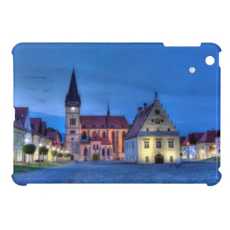 Old town square in Bardejov, Slovakia,HDR iPad Mini Cover