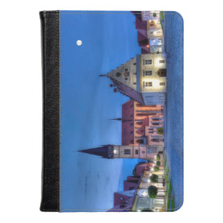 Old town square in Bardejov, Slovakia,HDR Kindle Case