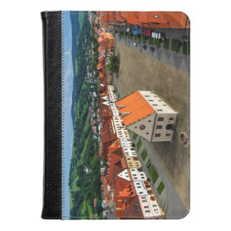 Old town square in Bardejov, Slovakia Kindle Case