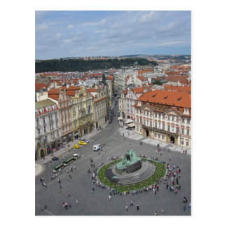 Old Town Square, Prague Postcard